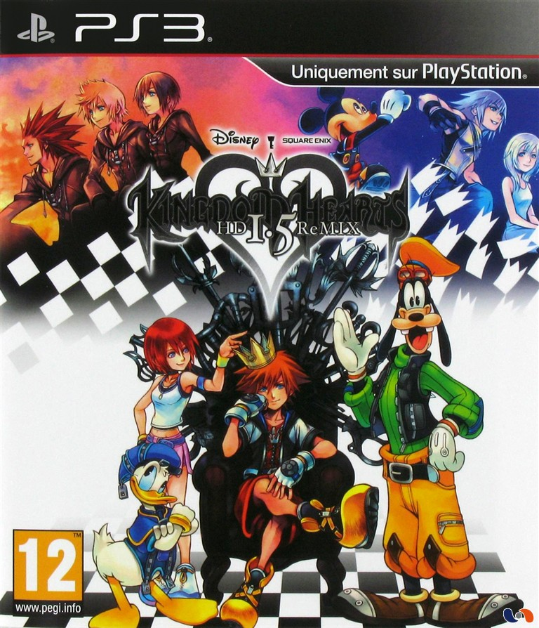 Kingdom Hearts HD 1 5 Remix