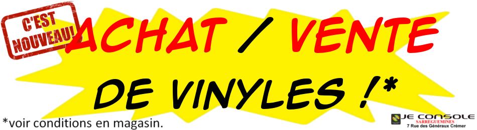 Achat vente vinyles